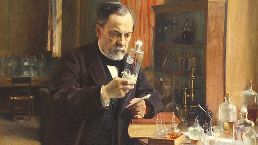 Художественное изображение Нобеля в процессе изобретения