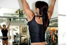 подтягивания фитнес женщина фитнес