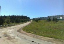 дорога Военный городок