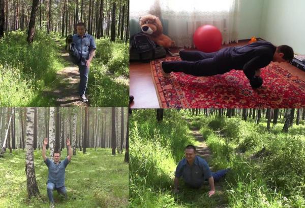 Комплекс 3 предворкаут Руслан