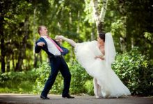 Невеста удар ногой
