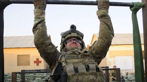 Подтягивания военный