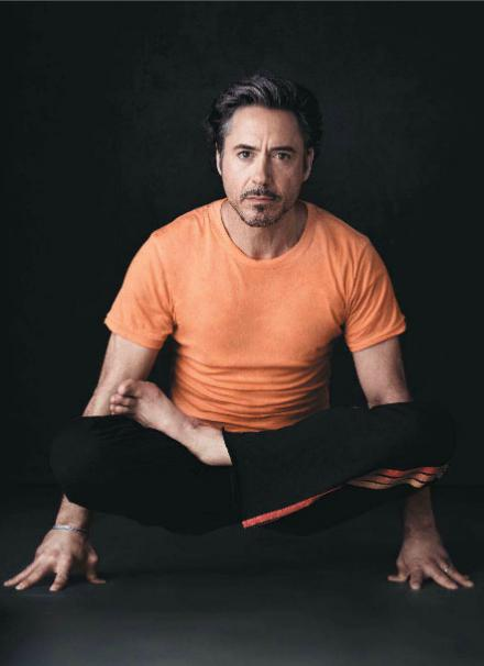 Роберт Дауни-мл. йога