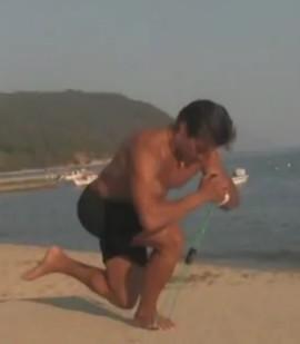 Яшанькин Тяга на одной ноге