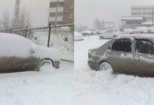 Зима авто в снегу