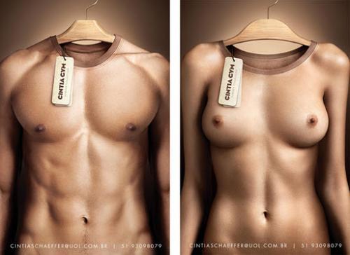 физическая форма мужчина женщина