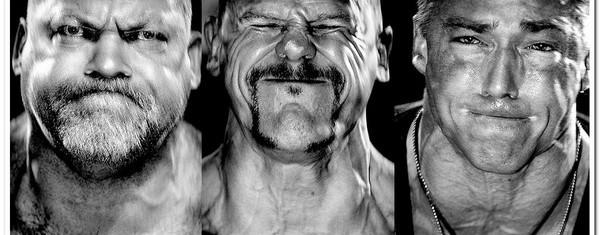 гримасы на лицах штангистов