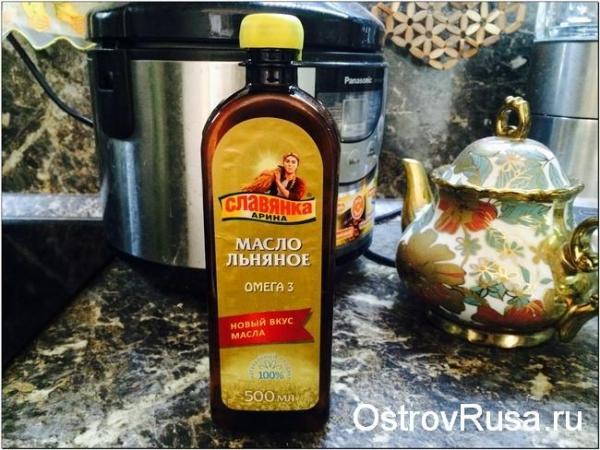льняное масло - полезные жиры