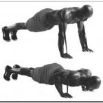 отжимания в упоре лежа с эспандером для усиления нагрузки